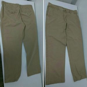 Men's Khaki pants Sonoma 33x32